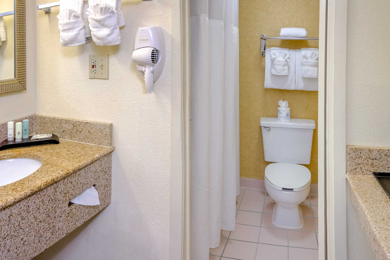 Midpointe Hotel At International Drive - Guest Bathroom