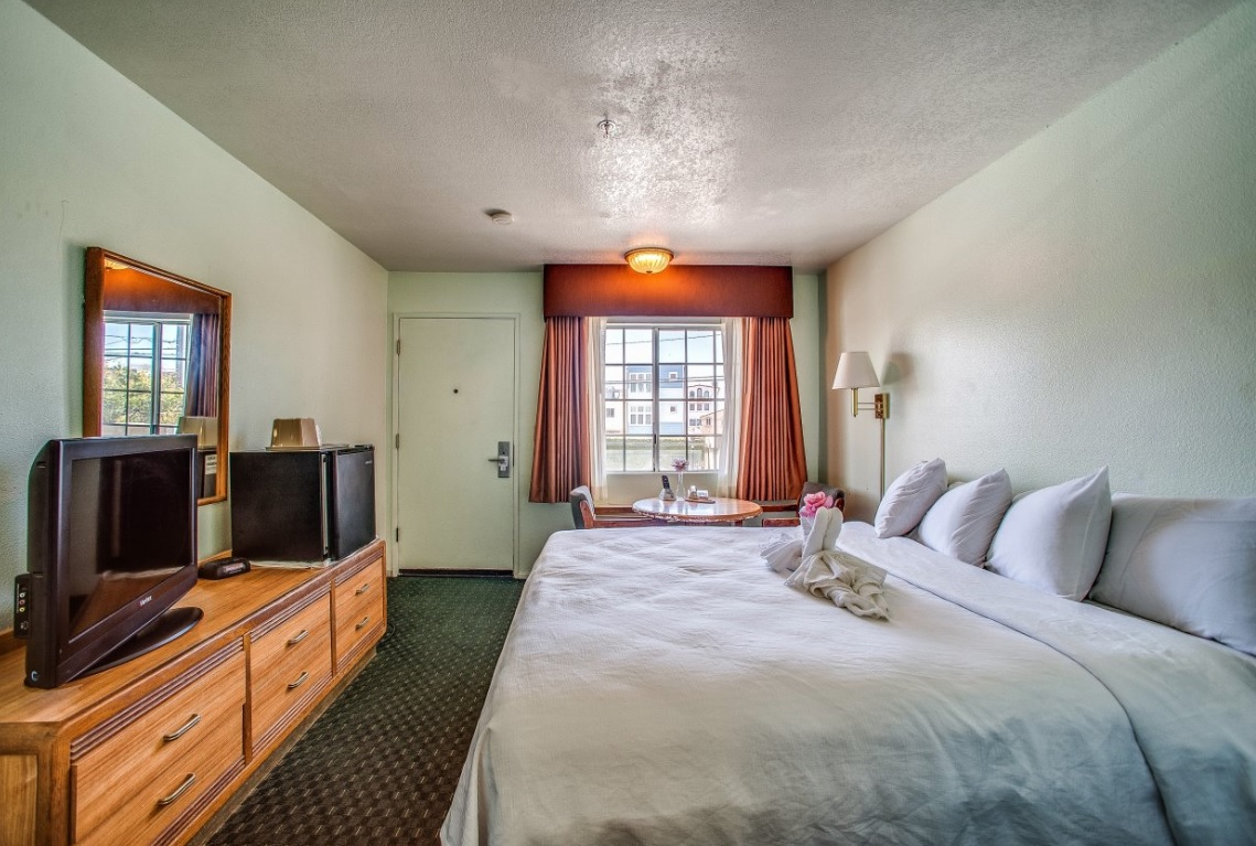 OceanView Motel - Single Bed-8