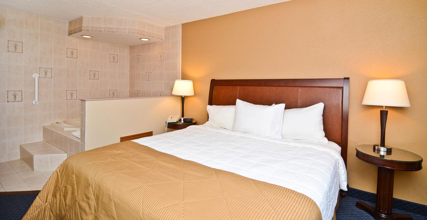 Pocono Resort - Single Bed-3