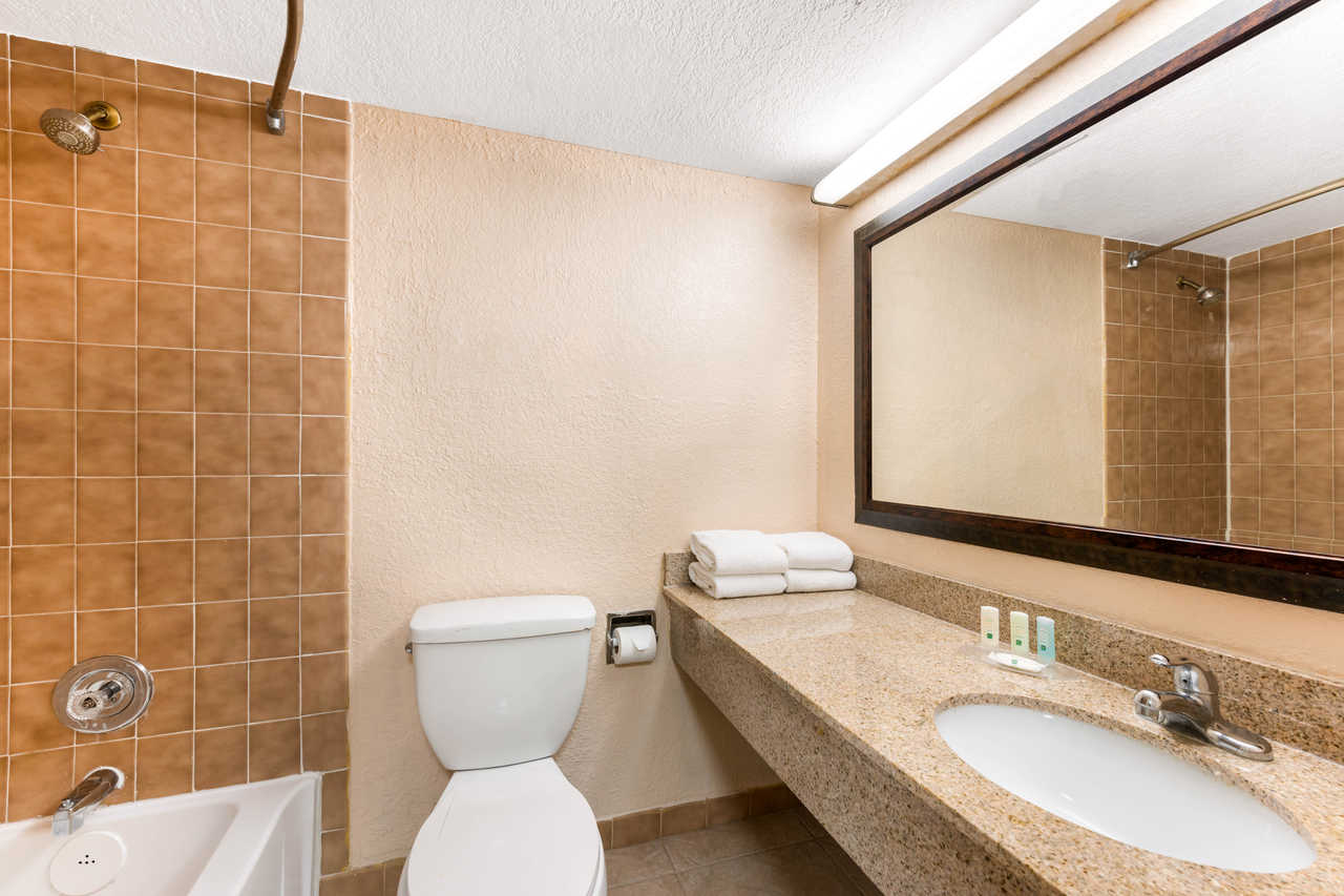 Quality Inn Orlando Airport - Guest Bathroom