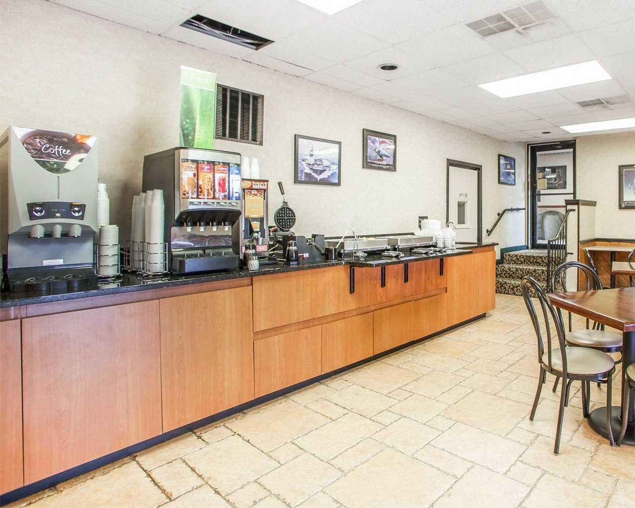 Quality Inn McGuire AFB - Breakfast Area-3