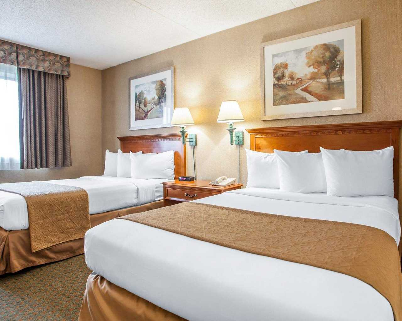 Quality Inn McGuire AFB - Double Beds Room-1