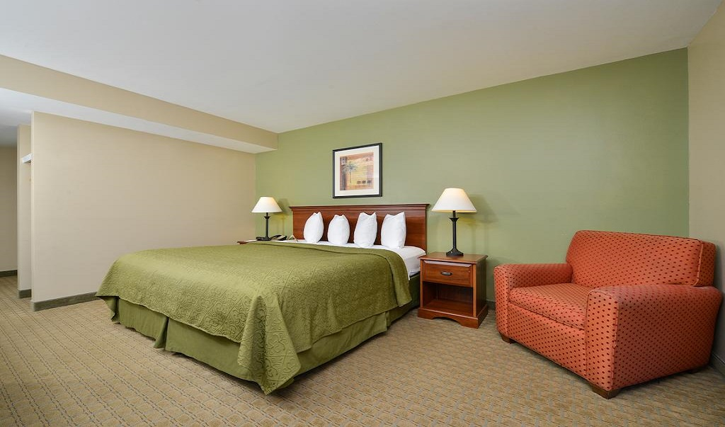 Quality Inn Ybor City - Single Bed-1
