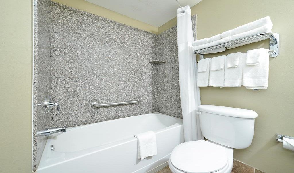 Quality Inn Ybor City - Room Bathroom