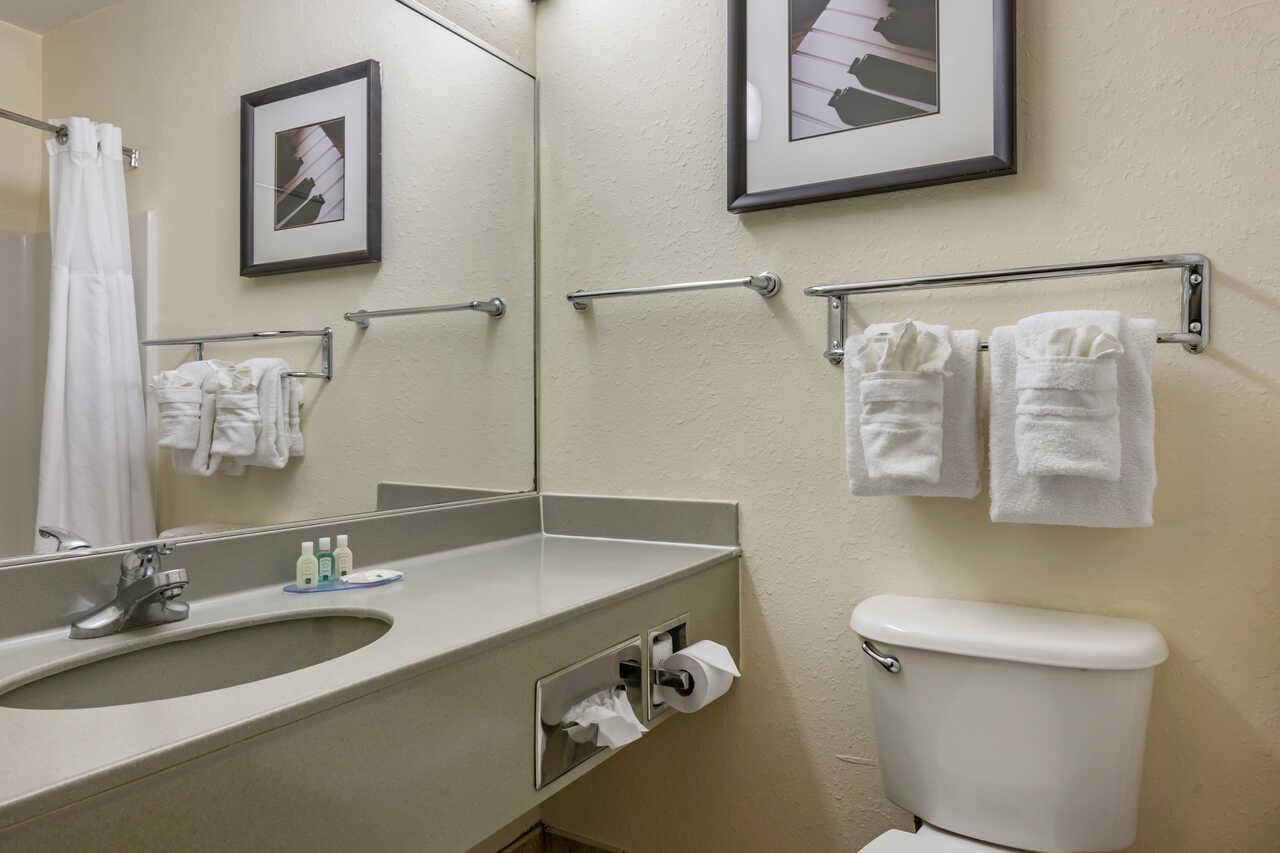 Quality Inn Zephyrhills - Room Bathroom