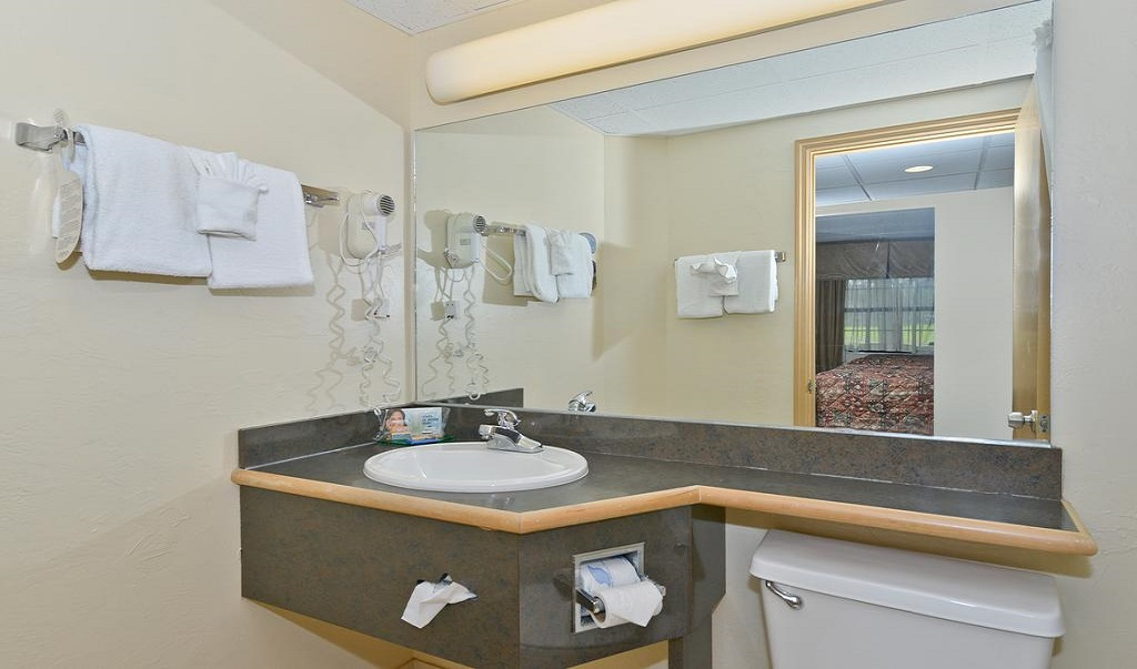 Quality Inn & Suites Brandon Tampa - Room Bathroom