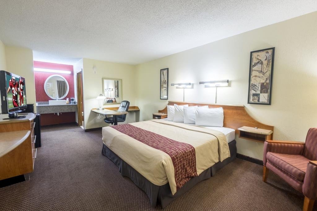Red Roof Inn Clarksville - Single Beds-2