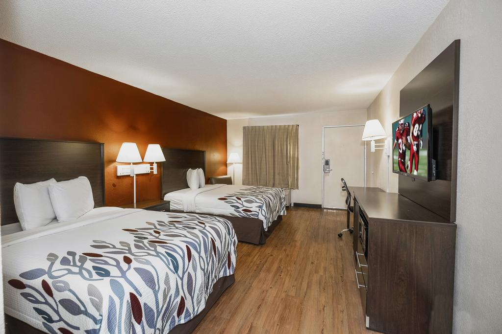 Red Roof Inn Walterboro - Double Beds-1