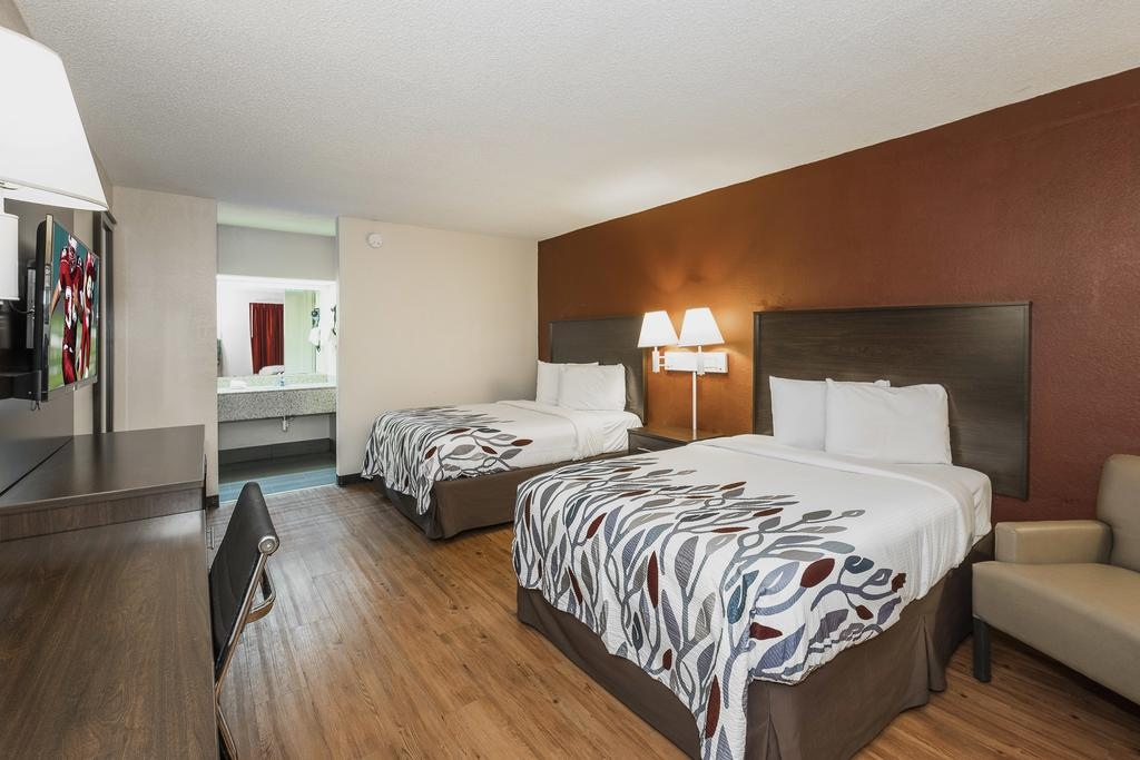 Red Roof Inn Walterboro - Double Beds-2