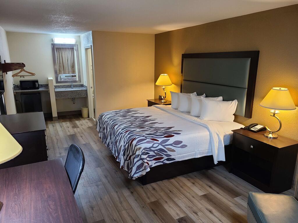 Red Roof Inn Staunton - Single Bed Room-1