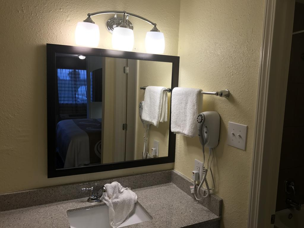 Regency Inn and Suites Rosenberg - Room Bathroom