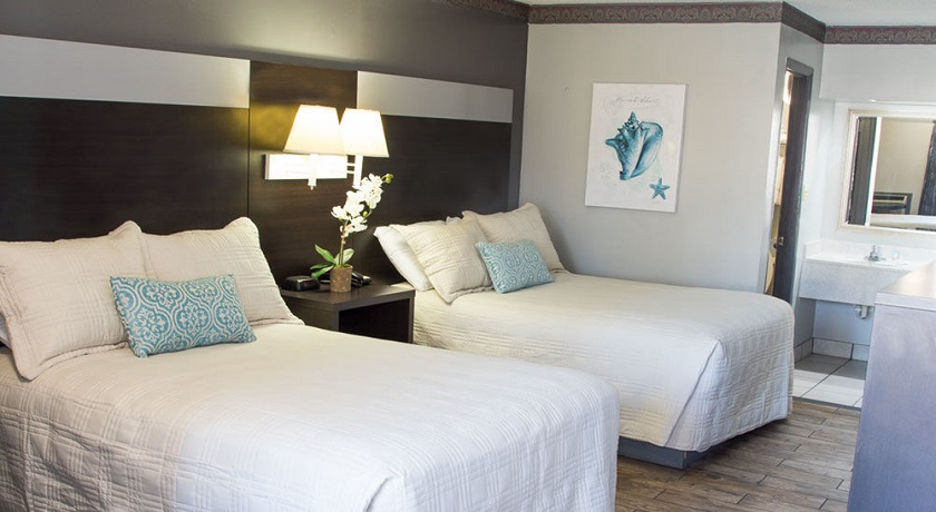 Sandcastle Inn Tybee Island - Double Beds-3