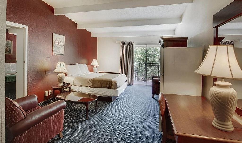 Scottish Inn Whippany - Single Bed Room-6