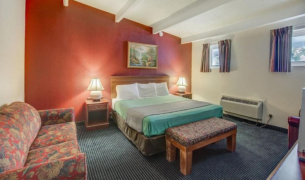 Scottish Inn Whippany - Single Bed Room-4
