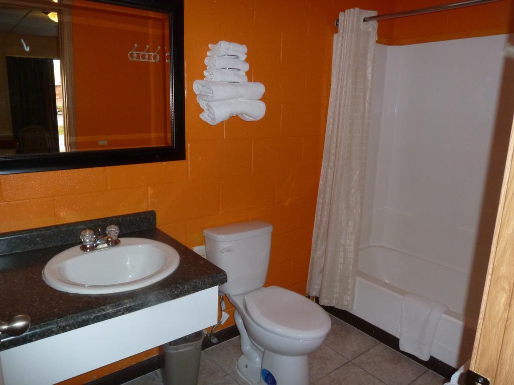 Sleep-Ees Inn Saginaw - Room Bathroom