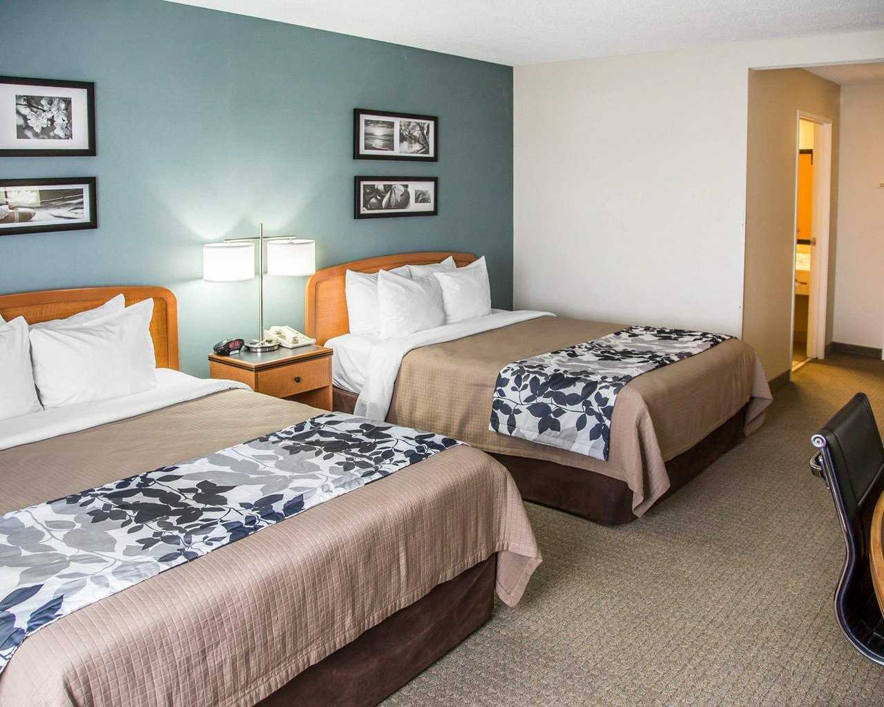 Sleep Inn & Suites Davenport - Standard Room Double Beds-2