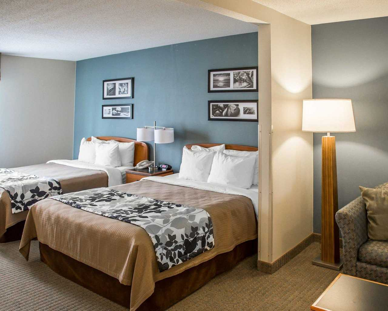 Sleep Inn & Suites Davenport - Standard Room Double Beds-3