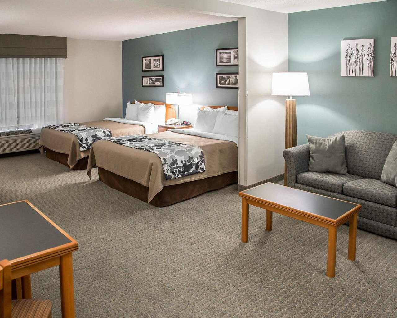 Sleep Inn & Suites Davenport - Standard Room Double Beds-4