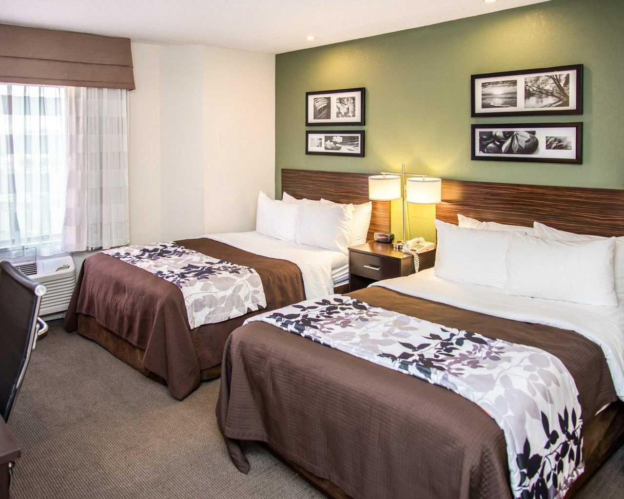 Sleep Inn University Place - Double Beds-2