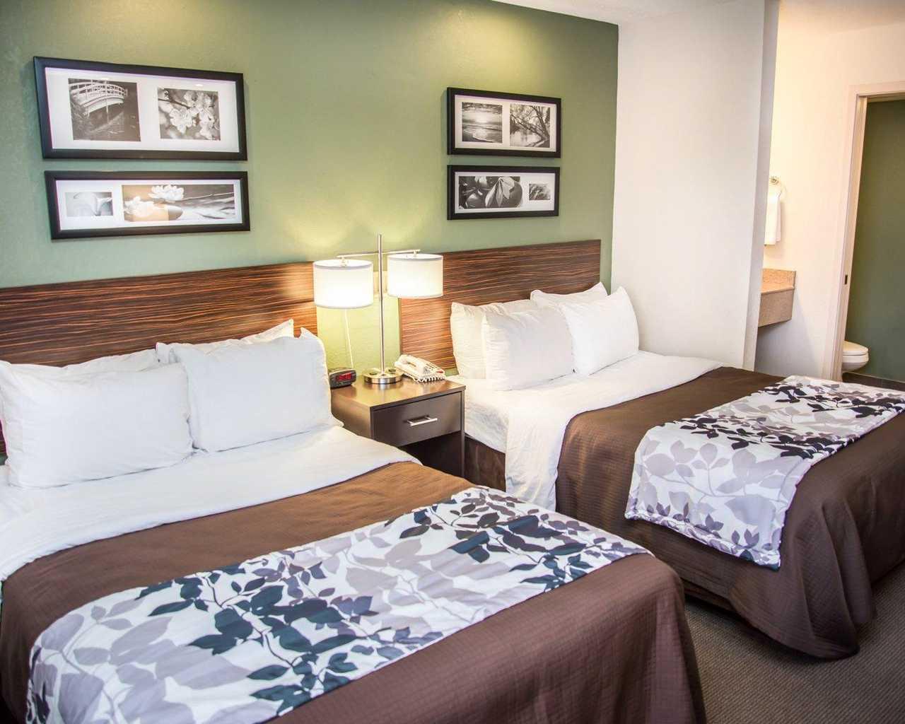 Sleep Inn University Place - Double Beds-1