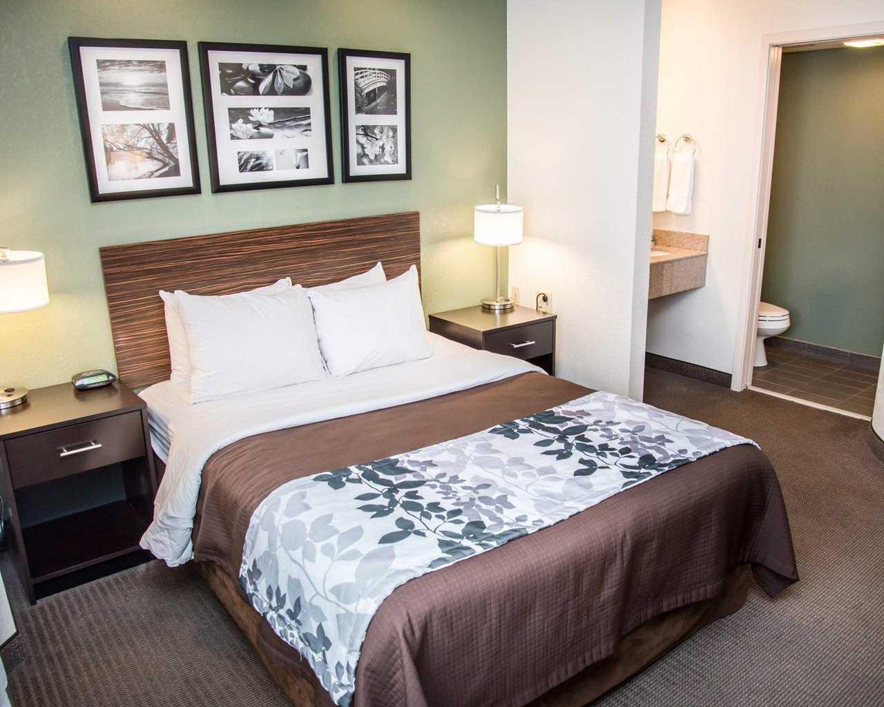 Sleep Inn University Place - Single Bed-3