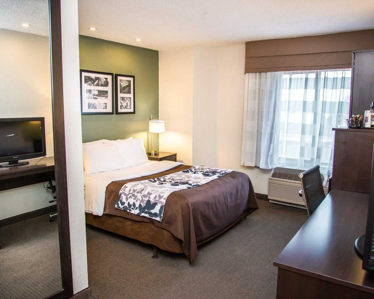 Sleep Inn University Place - Single Bed-2