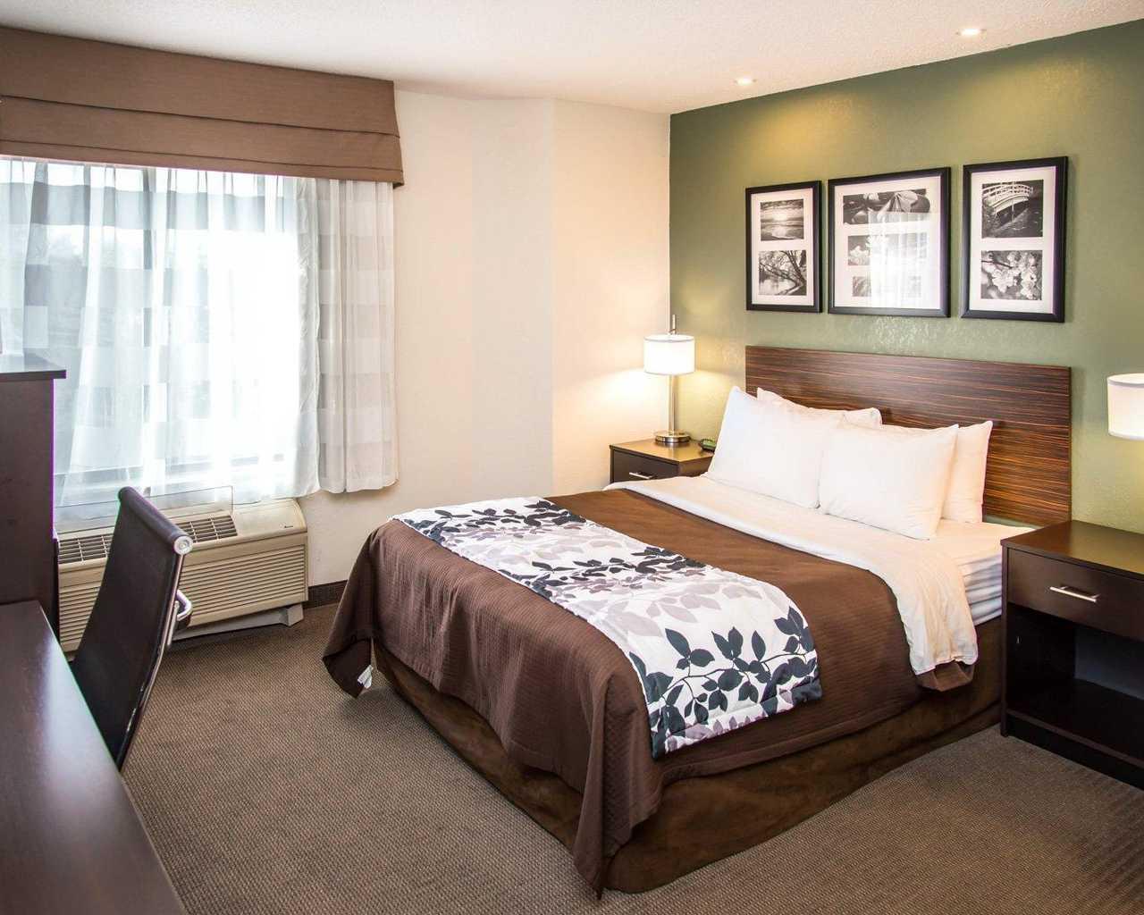Sleep Inn University Place - Single Bed-1