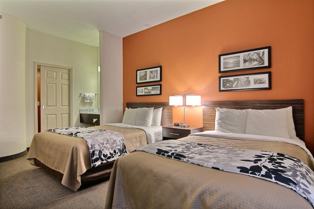 Sleep Inn Ormond Beach - Double Beds-2