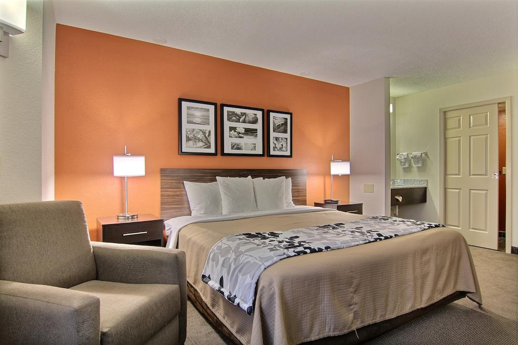 Sleep Inn Ormond Beach - Single Bed-3