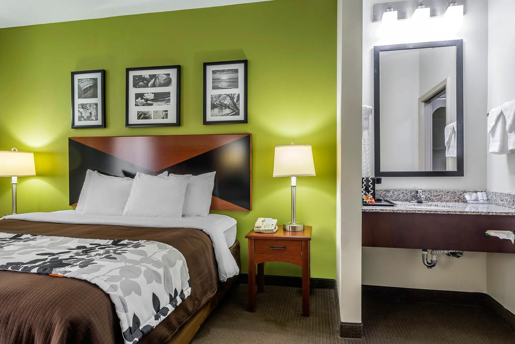 Sleep Inn Peachtree City - Single Bed-1